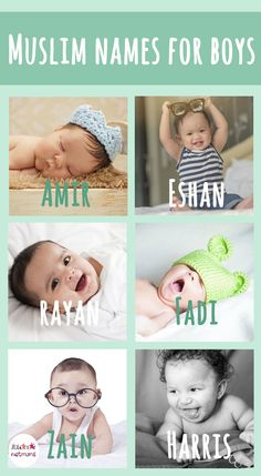 We are mix muslim and european family and we are looking for a name which is not too traditional, sounding modern, muslim and in the same time easy to pronounce in Europe. Suggestions for modern Muslim baby names for boys please ....