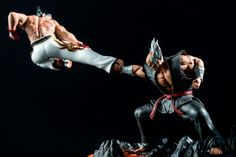 Post with 3288 views. Tekken Wallpaper, Tekken 4, Custom Action Figures, Figure Model, Mortal Kombat, Trending Memes, Cosplay, Poses, 3d Modeling