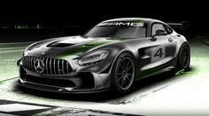 Think of the Mercedes-AMG GT4 race car as a super serious GT R - Autoblog
