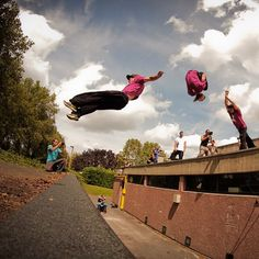 Iconic Frontflip from Team Farang's Jason Paul Parkour, Gymnastics, Calisthenics, Health Fitness