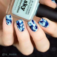 Marble Nail Art Designs (3)