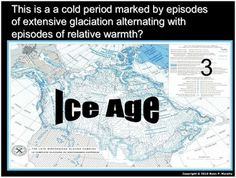 Ice ages glaciers glacial landforms crossword puzzle schooling this is now a 900 slide interactive powerpoint presentation with built in class notes malvernweather Gallery