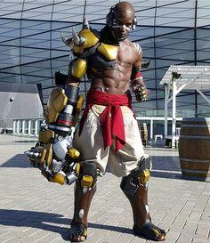 Doomfist cosplay!