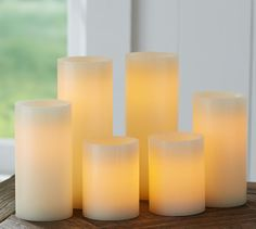Flameless Candles With Remote Costco Decor Look Alikes  Pottery Barn Flameless Wax Pillar Candles $1250