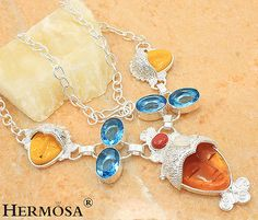PASSION-VENUS-Cameo-London-Blue-Topaz-Sterling-Silver-Choker-Necklace-19-3