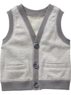 Terry-Fleece Vests for Baby Product Image