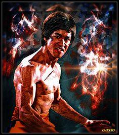 Bruce Lee Art, Bruce Lee Martial Arts, Bruce Lee Photos, Acevedo, Little Dragon, Foto Art, Batman Art, Wing Chun, Celebrities