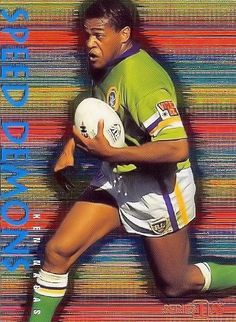 FLASHBACK: Canberra Raiders winger or fullback Ken Nagas made 142 first grade appearances for the team from the national capital between 1992 and 2002.  He scored 59 tries, and one goal, for a total 238 points.  He appeared in Canberra's 1994 Grand Final victory, scoring two tries.  He also played five games for New South Wales, one for NSW Country and five Tests for Australia. He returned to training in 2004, but did not make a comeback match.