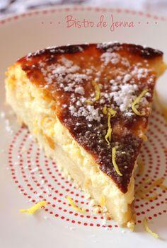 Tarte sablée au citron comme un cheesecake - Lemon Desserts, Delicious Desserts, Yummy Food, Sweet Recipes, Cake Recipes, Dessert Recipes, Cheesecakes, Haitian Food Recipes, Sweet Cooking