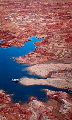 Lake Powell, Desert of Arizona