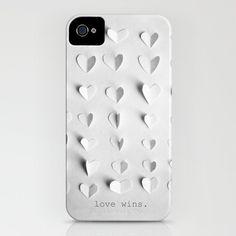 "Marianne LoMonaco : ""love wins."" iPhone case by | Sumally"