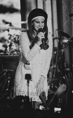 Lana Del Rey in Amsterdam #LDR