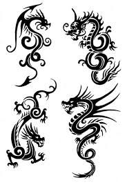 chinese dragons tattoo designs - Google Search