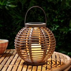 Shop garden lanterns for outside your home from From rattan to ribbed glass, hang them high or place on your patio. Garden Lanterns, Solar Lanterns, Solar Lights, Outdoor Candles, Outdoor Lighting, Rattan, Bougie Led, Seaside Home Decor