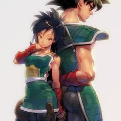 Gine and Bardock