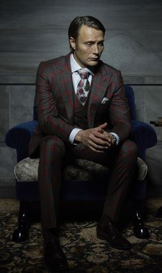Esquire Magazine Best-dressed Men on Television.  Well, obviously. From the beginning one of the best things about Bryan Fuller's basically flawless Red Dragon prequel Hannibal has been seeing its irrepressible supervillain plot and dine in style, and his turn this season is no different. We may not share Dr. Lecter's taste in meat, but good god does the man know his suiting.   - Esquire.com