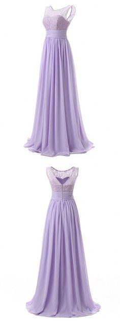 long bridesmaid dresseslace bridesmaid dressessimple bridesmaid dressescheap Lilac Bridesmaid Dresses, Lace Bridesmaids, Wedding Dresses, Bridesmaid Outfit, Dress Vestidos, Pli, Nice Dresses, Long Dresses, Prom Dresses