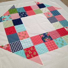 Charm Pack Churn Dash Quilt Pattern PDF by SterlingQuiltCompany