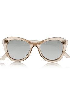 Le Specs Peach Pit cat-eye acetate sunglasses | NET-A-PORTER