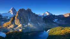 British columbia canada mount assiniboine national geographic dawn