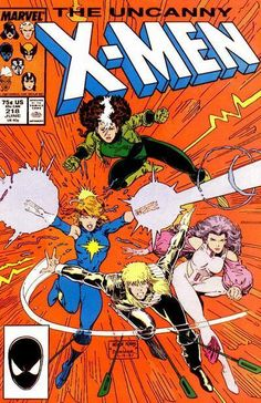Art Adams cover... An issue from back in the day. Damn, I don't remember Rogue's hair being so huge.