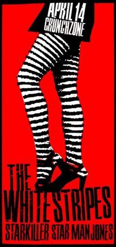 Trendy music poster art the white stripes Rock Posters, Band Posters, Concert Posters, Event Posters, Meg White, Jack White, The White Stripes, Sound Of Music, Good Music