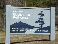 Blue Ridge Parkway in Boone, NC