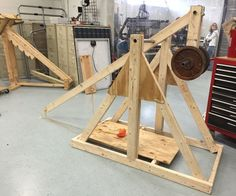 Do you enjoy building? Do you like huge projectile machine? If this sounds like you, we have a project to satisfy all your cravings. Trebuchets will make any day of the week so much better. In this Instructable we will teach you how to build one of these amazing machines.
