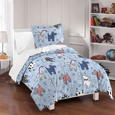Dream Factory Dog Dreams 3-piece Comforter Set