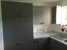 Hand made utility room storage