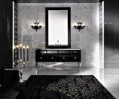 Modern Gothic Decor dark shadows inspiration: '70s moroccan goth for the modern home