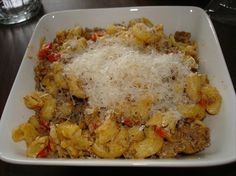 Ground Turkey Paprikash and Macaroni