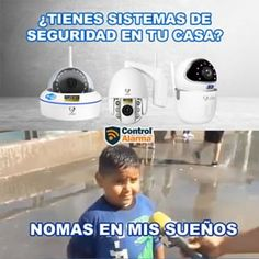 Control, Instagram, Ip Camera, Security Systems