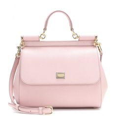 Dolce & Gabbana - Miss Sicily Mini leather shoulder bag - mytheresa.com