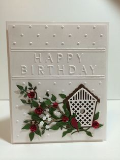 Image result for memory box happy birthday dies card images