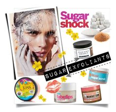 """""""Sugar Shock/Exfoliants"""" by clotheshawg ❤ liked on Polyvore featuring beauty, Bliss, Archipelago Botanicals and CO"""
