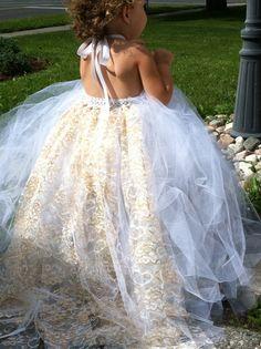 Cinderella's Wedding Dress by MonPetitElegance on Etsy, $50.00