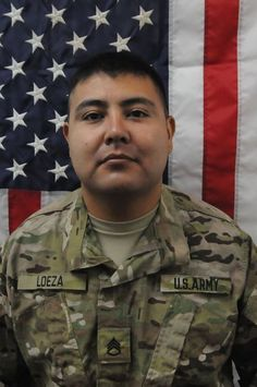 Staff Sgt. Roberto Loeza, 28, of El Paso, Texas, died May 25 in Charkh, Logar province, Afghanistan, when enemy forces attacked his unit with indirect fire.  He was assigned to the 1st Battalion, 41st Infantry Regiment, 3rd Brigade Combat Team, 1st Armored Division, Fort Bliss, Texas. http://www.defense.gov/releases/release.aspx?releaseid=15331