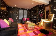 6 Bedroom Home in Brighton and Hove to rent from £1465 pw. With balcony/terrace, TV and DVD.