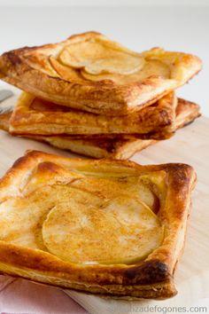Donna Hay's easy apple tart, vegan version. So easy, ready in less than 30 minutes. #apple #tart #vegan #healthy #dessert #desserts #baked #food #foodie #yummy