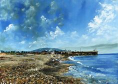 South Beach, Courtown - Time Lapse Painting
