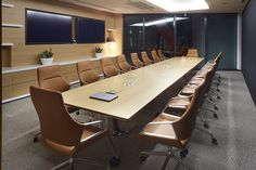 Davenport | QBE | Australia | GRAPH conference chair and CONFAIR folding table by #Wilkhahn