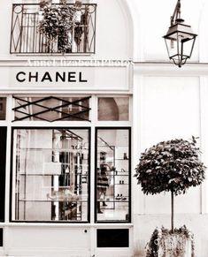 Coco Chanel Boutique- 8 x Fine Art Photograph - Portrait Style- Sepia -Fashion Art-Preppy Dorm-Vintage-Dreamy-Paris Nursery-Parisian Paris Nursery, Estilo Coco Chanel, Chanel Wall Art, Gabrielle Bonheur Chanel, Image Deco, Chanel Boutique, Chanel Store, Boujee Aesthetic, Travel Aesthetic