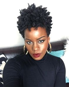 the humidity is disrespectful and shrinks down your Twist Out, but your fro is still fleeky af Tapered Natural Hair, Natural Hair Twist Out, Natural Hair Styles For Black Women, Kinky Curly Hair, Short Curly Hair, Curly Hair Styles, Long Hair, Ethnic Hairstyles, Twist Hairstyles