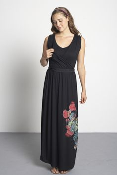 Palazzo Printed Maxi Nursing Dress
