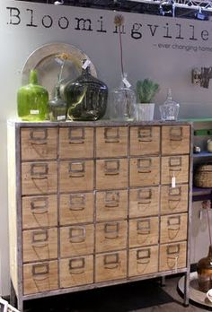 Love this 25-drawer cabinet