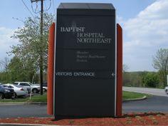 Baptist Hospital Northeast Monument Sign  #baptisthospitalnortheast #monumentsign