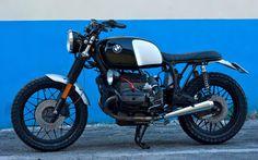 Inazuma café racer: R100 B&W by Cafe Twin