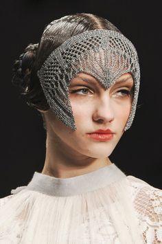crochet headpiece - Google Search