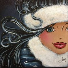 """Search Results for """"isabelle desrochers painter"""" - PinUp Girls Bel Art, Plus Size Art, Winter Illustration, Isabelle, Woman Drawing, Cartoon Pics, Pretty Art, Pictures To Paint, Large Art"""
